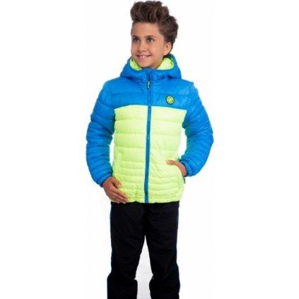 Chlapecká bunda SAM 73 žlutá jasná