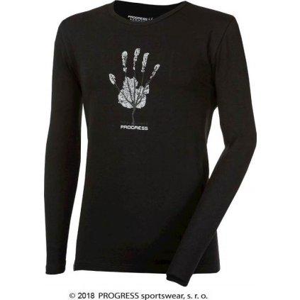 """Pánské triko PROGRESS s dlouhým rukávem s bambusem VANDAL """"STROM"""""""