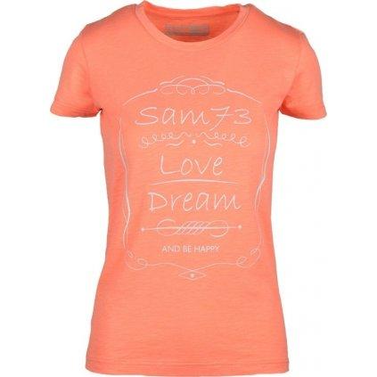 Dámské triko SAM 73 oranžová