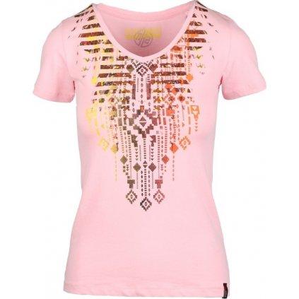Dámské triko SAM 73 růžová světlá
