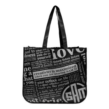 Reklamní taška - velká SAM 73 černá