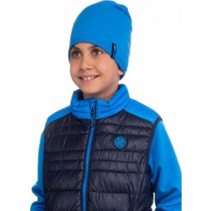 Dětská čepice SAM 73 modrá jasná