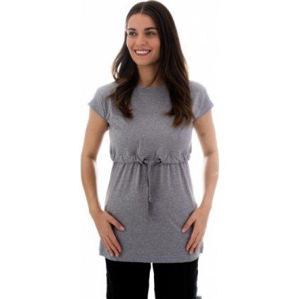 Dámské triko s krátkým rukávem SAM 73 Šedá