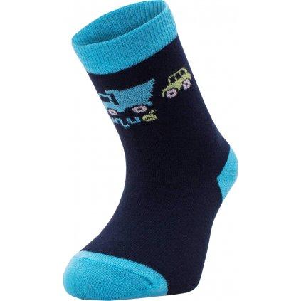 Bambusové ponožky UNUO Autíčka