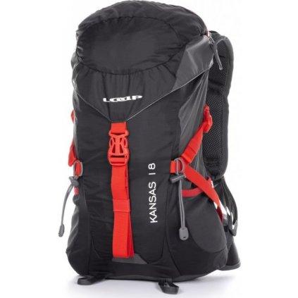 Turistický batoh LOAP Kansas 18 černá