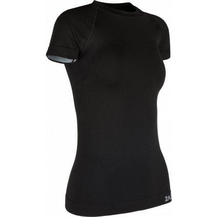 Dámské funkční triko ZAJO Contour W T-shirt SS černá