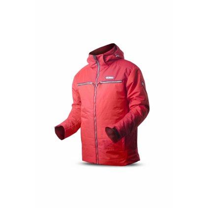 Pánská bunda TRIMM Ergo red/dark red