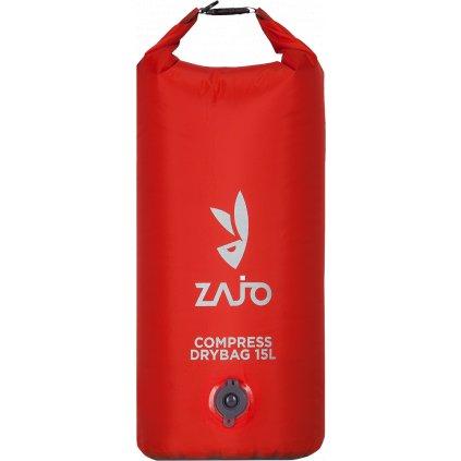 Compress Drybag ZAJO 15L rudá