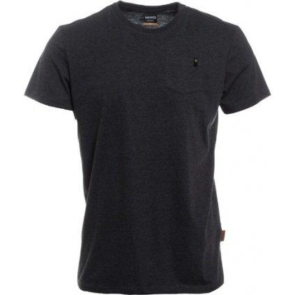 Pánské triko s krátkým rukávem SAM 73  černá