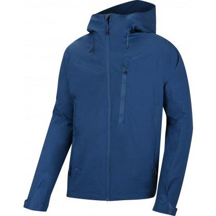 Pánská hardshellová bunda  HUSKY Noster M tm. modrá