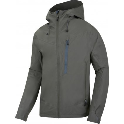 Pánská hardshellová bunda  HUSKY Noster M tm. khaki