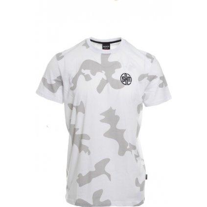Pánské tričko s krátkým rukávem SAM 73  bílá