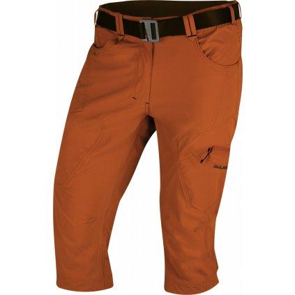 Pánské 3/4 kalhoty HUSKY Klery M tm. oranžová
