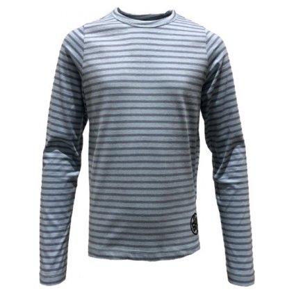 Dívčí triko s dlouhým rukávem SAM 73 Světle modrá