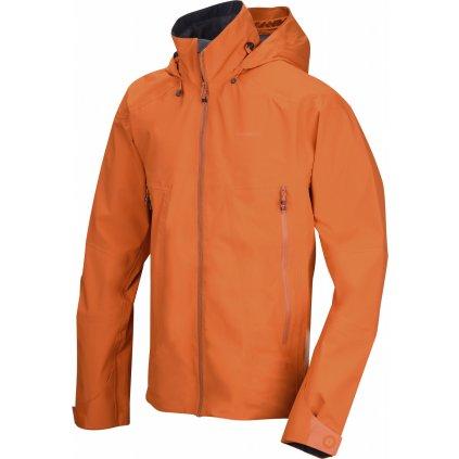 Pánská outdoor bunda  HUSKY Nakron M tm. oranžová