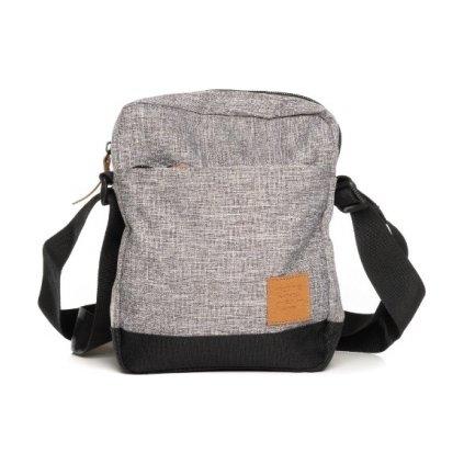 Malá taška přes rameno SAM 73  šedá světlá