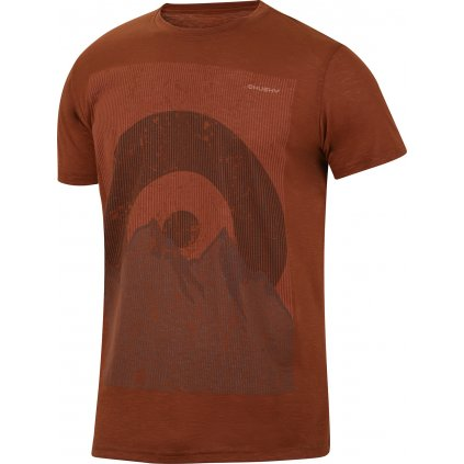 Pánské triko HUSKY Tingl M hnědooranžová