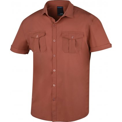 Pánská košile HUSKY Gomy sv. cihlová