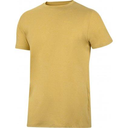 Pánské triko HUSKY Taiden M krémově žlutá