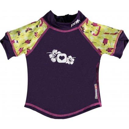 Funkční triko  UNUO Pop In UV Flamingo