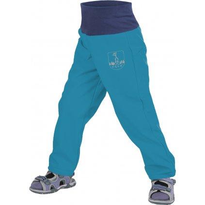 Batolecí softshellové kalhoty bez zateplení UNUO Aqua + reflexní obrázek Evžen