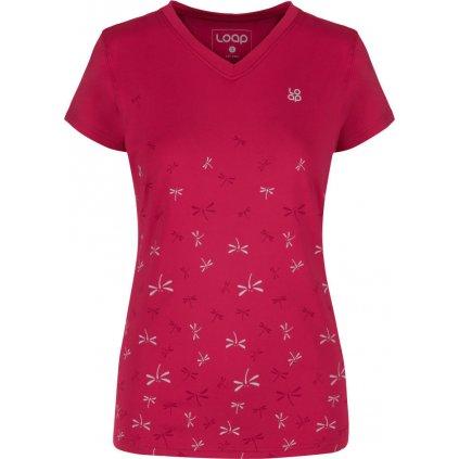 Dámské triko LOAP MELVIKA růžová