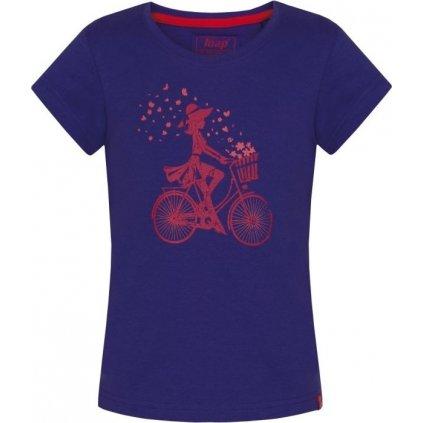 Dětské triko LOAP Birka fialová
