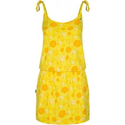 Dámské šaty LOAP Baja žlutá