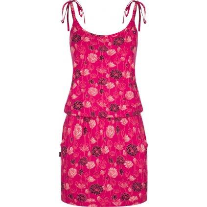 Dámské šaty LOAP Baja růžová