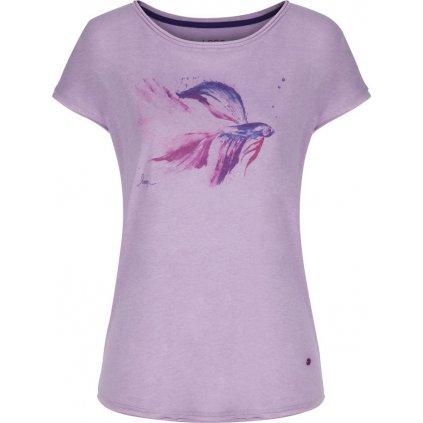 Dámské triko LOAP Aletta fialová