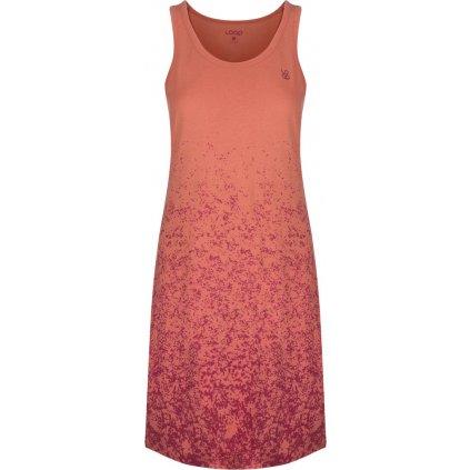 Dámské sportovní šaty LOAP Asilka oranžová