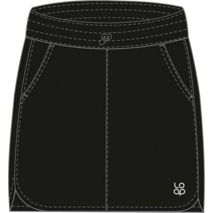 Dámská sportovní sukně LOAP Usara černá
