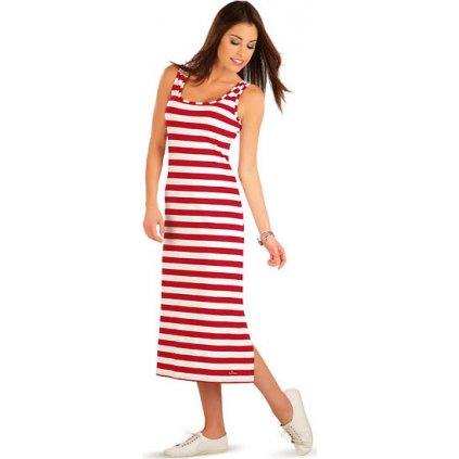 Šaty dámské dlouhé bez rukávu LITEX