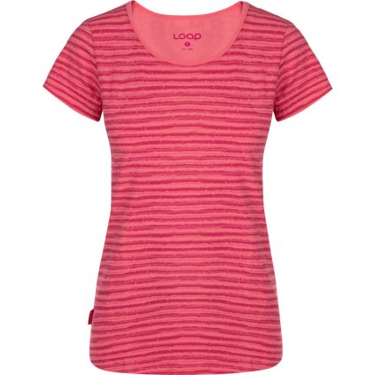 Dámské triko LOAP Aderina růžová