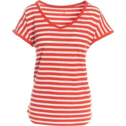 Dámské triko s krátkým rukávem SAM 73 červená
