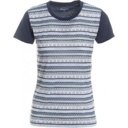 Dámské triko s krátkým rukávem SAM 73 tmavě modrá