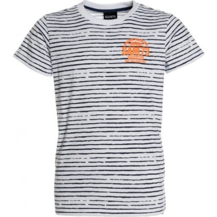 Chlapecké triko s krátkým rukávem SAM 73 bílá
