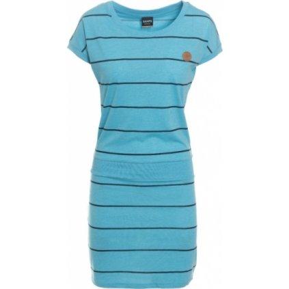 Dámské šaty SAM 73 modrá neon