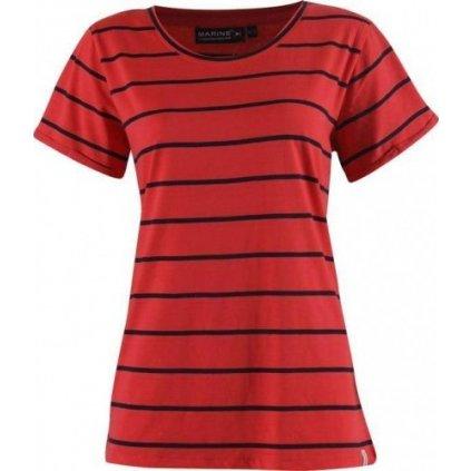 Dámské bavlněné triko 2117 OF SWEDEN Marine
