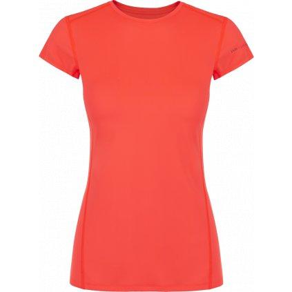 Dámské tričko ZAJO Litio W T-shirt SS oranžová s krátkým rukávem