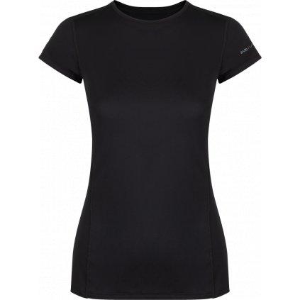 Dámské tričko ZAJO Litio W T-shirt SS černá s krátkým rukávem