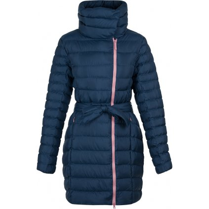 Dámský kabát do města LOAP Ikona modrá