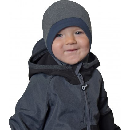 Dětská funkční kukla UNUO šedá