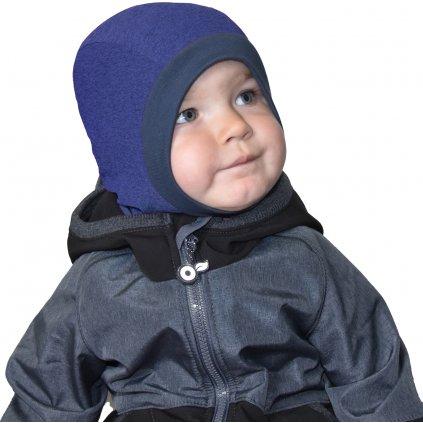 Dětská funkční kukla UNUO tmavě modrá
