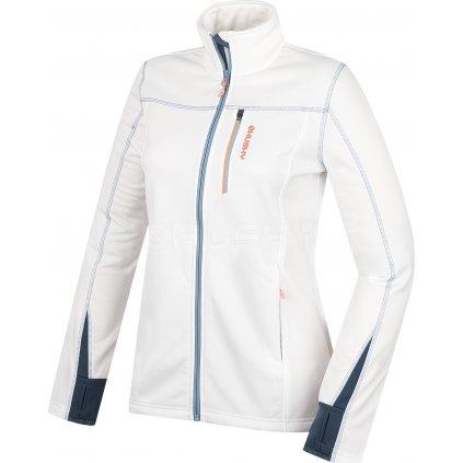 Dámská fleecová bunda HUSKY Avely L bílá