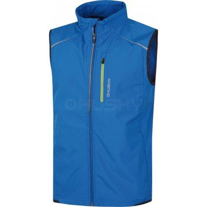 Pánská softshell vesta HUSKY Tony modrá