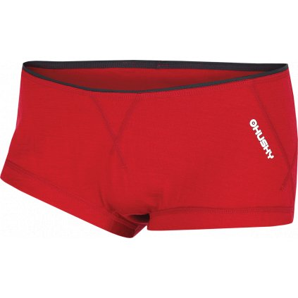 Dámské merino termo kalhotky HUSKY červená