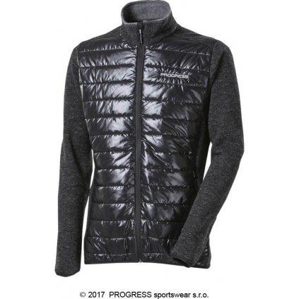 Pánská sportovní hybridní bunda s vlnou PROGRESS Tux Wool
