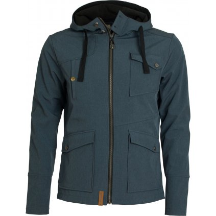 Pánská bunda WOOX Strict Men´s Softshell Navy