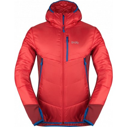 Pánská zimní bunda ZAJO Arth Jkt rudá